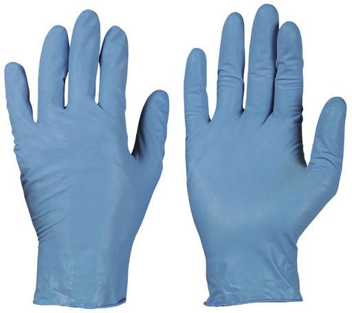 Nitril-Einweg-Handschuhe, blau