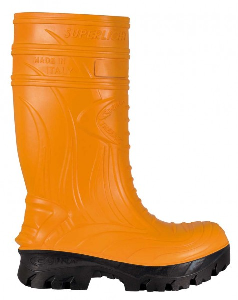 PU-Stiefel THERMIC ORANGE S5 CI HRO CR AN M SRC COFRA