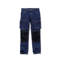 CARHARTT Denim Multi Pocket Tech Pant / Hose
