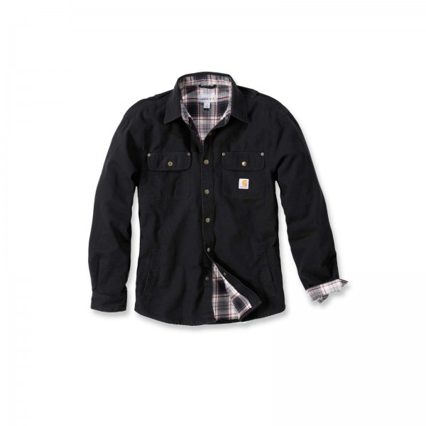 CARHARTT Weathered Canvas Shirt Jacket / Hemd
