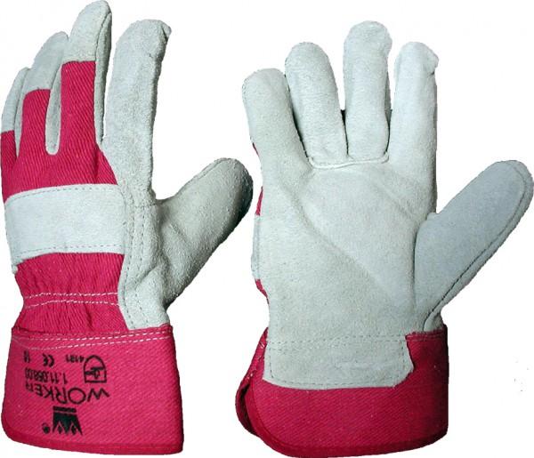 Rindspaltleder-Handschuhe 88 CBWA/N