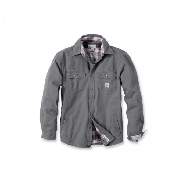 CARHARTT Weathered Canvas Shirt Jacket / Hemd-Copy