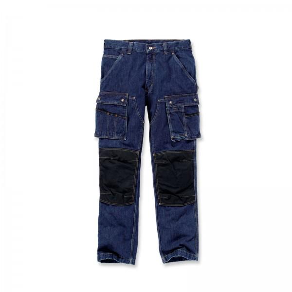 CARHARTT Denim Multi Pocket Tech Pant / Hose