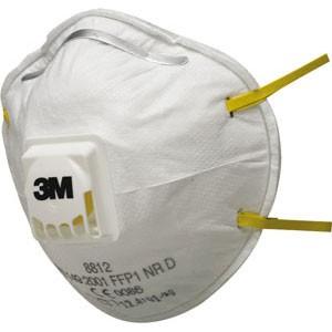 3M™ 8812 Partikelmaske FFP1 mit Ausatemventil