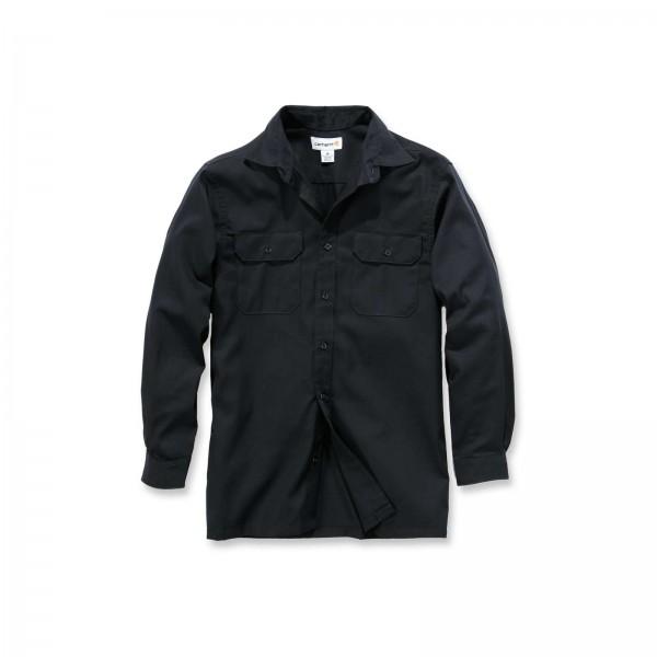 CARHARTT Twill Long Sleeve Work Shirt / Hemd
