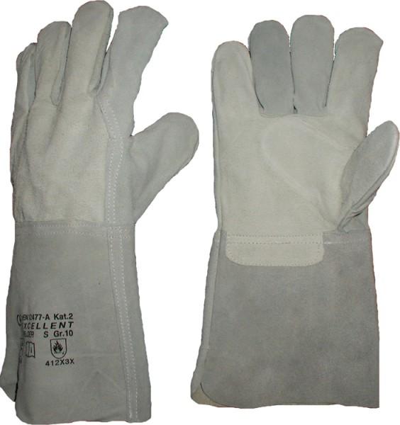 Schweißer-Handschuhe 5 Finger-UF (ungefüttert)