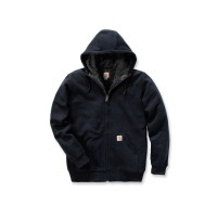 CARHARTT Colliston Sherpa Lined Zip Front Sweatshirt