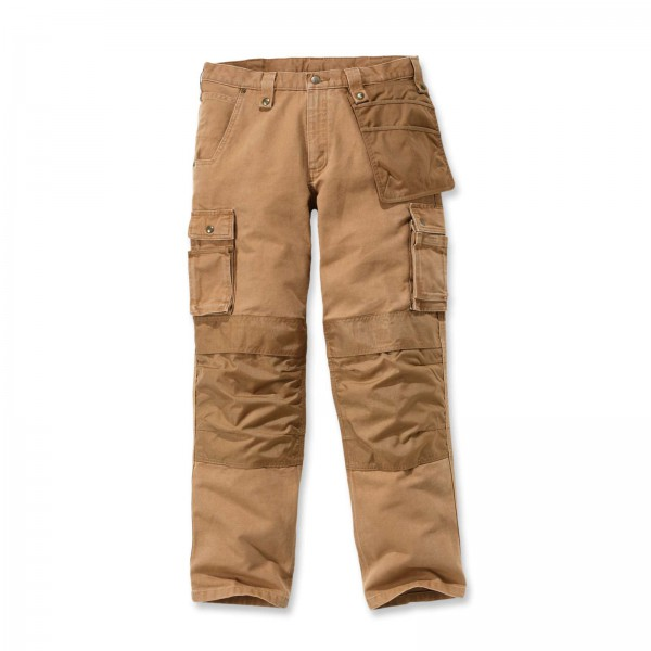 CARHARTT Multi Pocket Washed Duck Pant / Hose