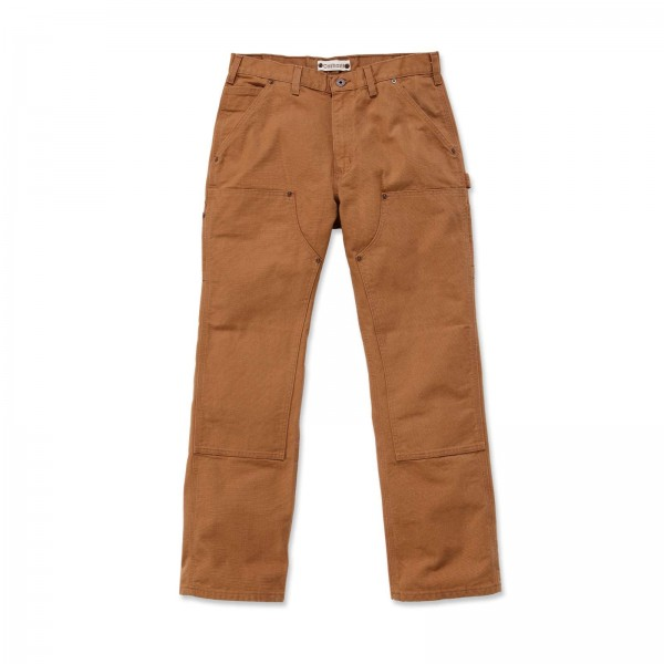 CARHARTT Washed Duck Double-Front Work Dungaree / Hose