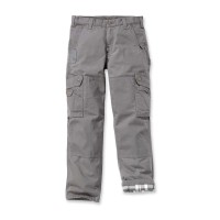 CARHARTT Ripstop Cargo Work Pant Flannel Lined / Hose gravel Weite 30 / Länge 30