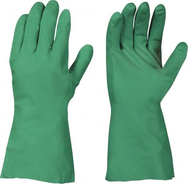 Nitril-Handschuhe grün CAT 2