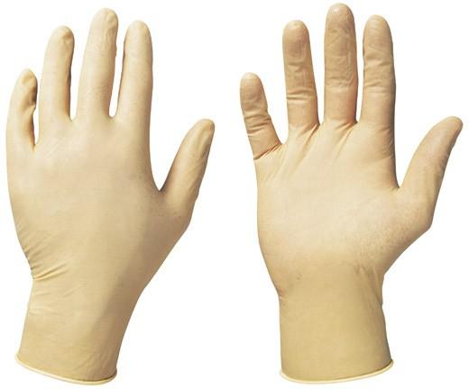 Latex-Einweg-Handschuhe