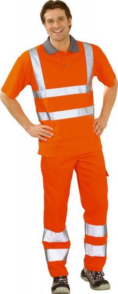 Polo-Shirt 2-farbig PLANAM Warnschutz