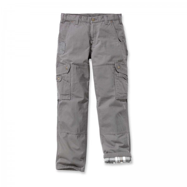 CARHARTT Ripstop Cargo Work Pant Flannel Lined / Hose